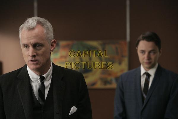 JOHN SLATTERY, VINCENT KARTHEISER<br /> in Mad Men (Season 1)<br /> *Filmstill - Editorial Use Only*<br /> CAP/FB<br /> Image supplied by Capital Pictures