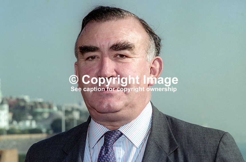 Michael Mates, MP, Conservative Party, UK, October, 1994, 1994103947<br />