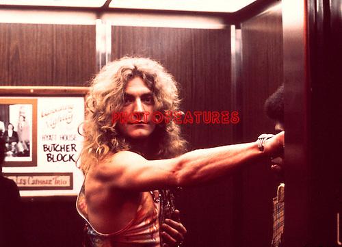 LED ZEPPELIN 1973 Robert Plant at the Hyatt on Sunset