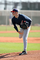 Preston Guilmet, Cleveland Indians 2010 minor league spring training..Photo by:  Bill Mitchell/Four Seam Images.