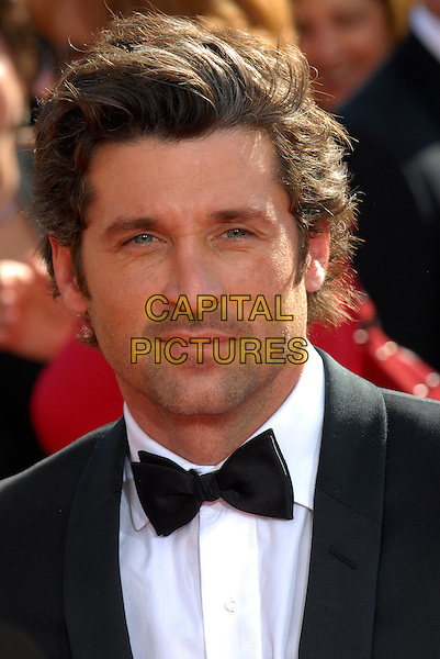 PATRICK DEMPSEY .60th Annual Primetime Emmy Awards held at the Nokia Theatre,  Los Angeles, California, USA, 21 September 2008..emmys portrait headshot black bow tie .CAP/ADM/`CH.©Charles Harris/Admedia/Capital PIctures