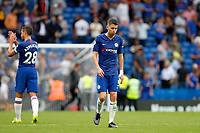 Jorginho of Chelsea cuts a frustrated figure during the Premier League match between Chelsea and Sheff United at Stamford Bridge, London, England on 31 August 2019. Photo by Carlton Myrie / PRiME Media Images.