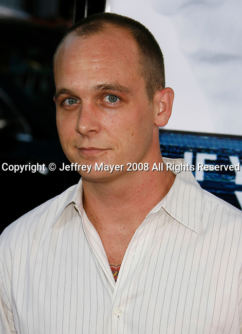 "HOLLYWOOD, CA. - September 16: Actor Ethan Embry  arrives at the Los Angeles Premiere of ""Eagle Eye"" at the Mann's Grauman Chinese Theatre on September 16, 2008 in Los Angeles, California."