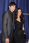 "Ashton Kutcher & Demi Moore at The 18th Annual"" A Night at Sardi's"" Fundraiser & Awards Dinner held at The Beverly Hilton Hotel in The Beverly Hills, California on March 18,2010                                                                   Copyright 2010  DVS / RockinExposures"