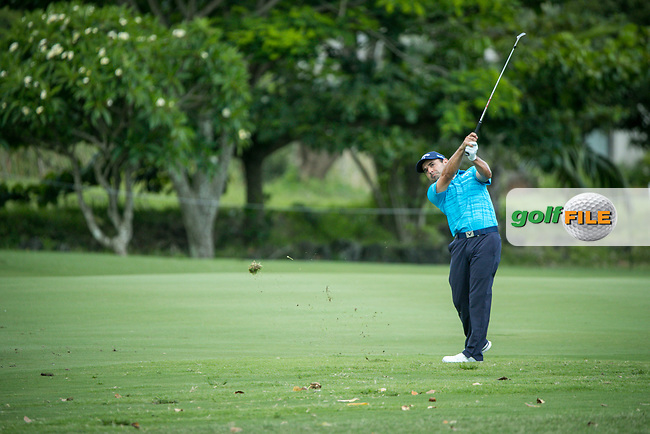 Fabrizio Zanotti (PAR) during the 3rd round of the AfrAsia Bank Mauritius Open, Four Seasons Golf Club Mauritius at Anahita, Beau Champ, Mauritius. 01/12/2018<br /> Picture: Golffile | Mark Sampson<br /> <br /> <br /> All photo usage must carry mandatory copyright credit (&copy; Golffile | Mark Sampson)