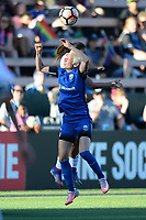 Seattle, WA - Friday June 23, 2017: Megan Rapinoe during a regular season National Women's Soccer League  (NWSL) match between the Seattle Reign FC and FC Kansas City at Memorial Stadium.