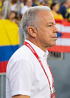 Tampa, FL - Thursday, October 11, 2018: Dave Sarachan during a USMNT match against Colombia.  Colombia defeated the USMNT 4-2.