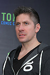 """British actor Ray Park attends a press conference to unveil the """"Tokyo Comic Con 2016"""" in Tokyo, Japan, on December 4, 2015. The inaugural Tokyo Comic Con will take place at the Mukahari Messe Convention Center from December 3-4, 2016. (Photo by Pasya/AFLO)"""
