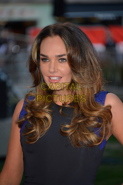 Tamara Ecclestone<br /> 'Rush' world film premiere at the Odeon Leicester Square cinema, London, England.<br /> 2nd September 2013<br /> headshot portrait black sleeveless<br /> CAP/PL<br /> &not;&copy;Phil Loftus/Capital Pictures