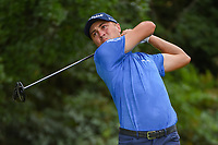 Justin Thomas (USA) watches his tee shot on 13 during round 2 of the 2019 Tour Championship, East Lake Golf Course, Atlanta, Georgia, USA. 8/23/2019.<br /> Picture Ken Murray / Golffile.ie<br /> <br /> All photo usage must carry mandatory copyright credit (© Golffile | Ken Murray)