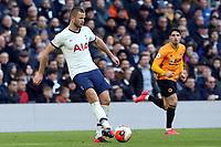 Eric Dier of Tottenham Hotspur during Tottenham Hotspur vs Wolverhampton Wanderers, Premier League Football at Tottenham Hotspur Stadium on 1st March 2020