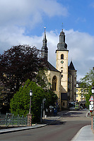 St. Michael (Eglise St.Michel) - die älteste Kirche Luxemburgs, Stadt Luxemburg, Luxemburg, Unesco-Weltkulturerbe