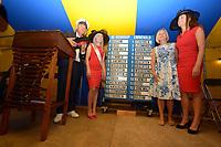 ZEILSPORT: GROU: 03-08-2018, Loting SKS Skûtsjesilen, ©foto Martin de Jong