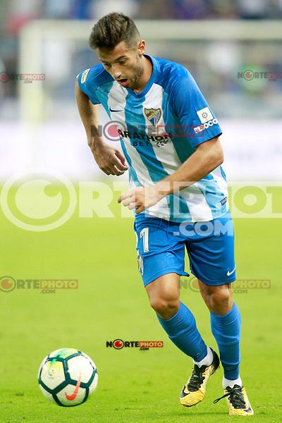 Malaga CF's Jony Rodriguez during XXXIII Costa del Sol Trophy. August 5,2017. (ALTERPHOTOS/Acero) /NortePhoto.com
