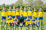 Ballyhar U15 at the U15 Shield final against  Listowel fc U15 at Mounthawk Park on Saturday