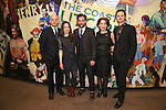 Frank Wood, Elizabeth Reaser, Josh Radnor, Randy Graff and Michael Oberholtzer attends the press reception for the Opening Night of the Lincoln Center Theater Production of 'The Babylon Line'  at the Mitzi E. Newhouse Theatre on December 5, 2016 in New York City.