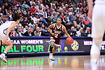 DALLAS, TX - MARCH 31:  Morgan William #2 of the Mississippi State Lady Bulldogs dribbles during the 2017 Women's Final Four at American Airlines Center on March 31, 2017 in Dallas, Texas. (Photo by Justin Tafoya/NCAA Photos via Getty Images)