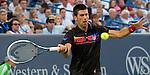 Novak Djokovic (SRB) defeats Ryan Harrison (USA)  at the Western and Southern Financial Group Masters Series in Cincinnati on August 17, 2011.  Djokovic won, 6-2, 6-3.