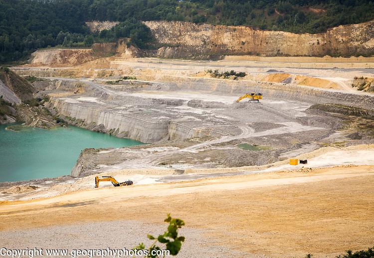 ENCI quarry, Pietersberg, Maastricht, Limburg province, Netherlands