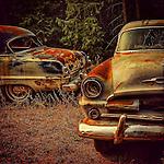 Automobiles rusting