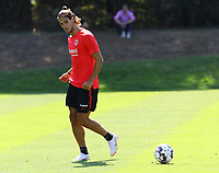 Goncalo Paciencia (Eintracht Frankfurt) - 18.07.2018: Eintracht Frankfurt Training, Commerzbank Arena