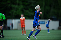 Seattle, WA - Saturday April 22, 2017: Megan Rapinoe during a regular season National Women's Soccer League (NWSL) match between the Seattle Reign FC and the Houston Dash at Memorial Stadium.