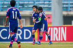 Japan plays against Thailand during the AFC U-16 Women's Championship China 2015 Semi Final match at the Xinhua Road Stadium on 12 November 2015 in Wuhan, China. Photo by Aitor Alcalde / Power Sport Images