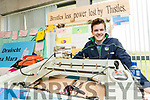 Tarbert Comprehensive School student Tomás Culhane Glin Limerick 'Brisltes' Power lost by Thistles, pictured at IT Tralee Student Enterprise awards on Friday last.