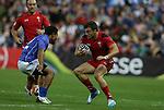 Glasgow 2014 Commonwealth Games<br /> Gareth Owen<br /> Wales v Samoa<br /> Ibrox Stadium<br /> <br /> 26.07.14<br /> &copy;Steve Pope-SPORTINGWALES