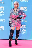 BILBAO, SPAIN-November 04:  Bebe Rexha attend the EMA 2018 at BEC (Bilbao Exhibition Center) in Bilbao, Spain on the 4 of November of 2018. November04, 2018.  ***NO SPAIN*** <br /> CAP/MPI/RJO<br /> &copy;RJO/MPI/Capital Pictures