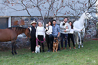 Gary Yaghdjian, Danielle Yaghdjian, Emily Wulff, Andreas Wulff, Elsa Wulff, Ryan Yaghdjian, Priya Hall