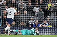 Hugo Lloris of Tottenham Hotspur parries a shot during Tottenham Hotspur vs Southampton, Emirates FA Cup Football at Tottenham Hotspur Stadium on 5th February 2020