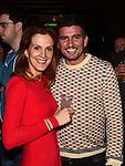 Kristina Bradvica and JP Egan at the 'Bull Factor' final at the Black Bull. Photo:Colin Bell/pressphotos.ie