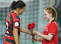 Portland, OR - Saturday, August 3, 2019: Portland Thorns vs Sky Blue FC at Providence Park.