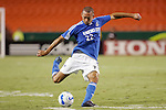 Aug 22 2007:  Davy Arnaud (22) of the Wizards.  The MLS Kansas City Wizards defeated the visiting Chicago Fire 3-2 at Arrowhead Stadium in Kansas City, Missouri, in a regular season league soccer match.