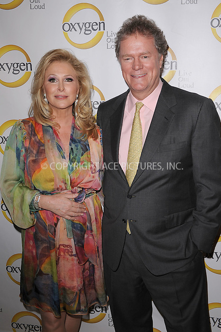 WWW.ACEPIXS.COM . . . . . .April 4, 2011...New York City...Kathy and Rick Hilton attend the Oxygen Upfront Presentation on April 4, 2011 in New York City....Please byline: KRISTIN CALLAHAN - ACEPIXS.COM.. . . . . . ..Ace Pictures, Inc: ..tel: (212) 243 8787 or (646) 769 0430..e-mail: info@acepixs.com..web: http://www.acepixs.com .
