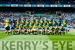 The Kerry Team v Galway in the All Ireland Senior Football Quarter Final at Croke Park on Sunday.