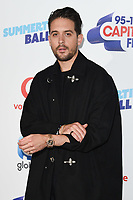 G-Eazy in the press room for the Capital Summertime Ball 2018 at Wembley Arena, London, UK. <br /> 09 June  2018<br /> Picture: Steve Vas/Featureflash/SilverHub 0208 004 5359 sales@silverhubmedia.com
