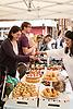 Cake stall, Midsummer Muswell Community Market, Muswell Hill, London 2015