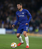 Chelsea's Mateo Kovacic<br /> <br /> Photographer Rob Newell/CameraSport<br /> <br /> UEFA Europa League - Group L - Chelsea v MOL Vidi - Thursday 4th October 2018 - Stamford Bridge - London<br />  <br /> World Copyright © 2018 CameraSport. All rights reserved. 43 Linden Ave. Countesthorpe. Leicester. England. LE8 5PG - Tel: +44 (0) 116 277 4147 - admin@camerasport.com - www.camerasport.com