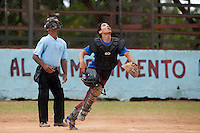 BASEBALL - POLES BASEBALL FRANCE - TRAINING CAMP CUBA - HAVANA (CUBA) - 13 TO 23/02/2009 - CUBAN CATCHER