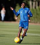 08.08.18 Rangers training: Umar Sadiq