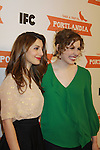 Nasim Pedrad & Vanessa Bayer attend the Portlandia Season 2 Premiere Screening on January 5, 2012 at the American Museum of Natural History, New York City, New York. (Photo by Sue Coflin/Max Photos)