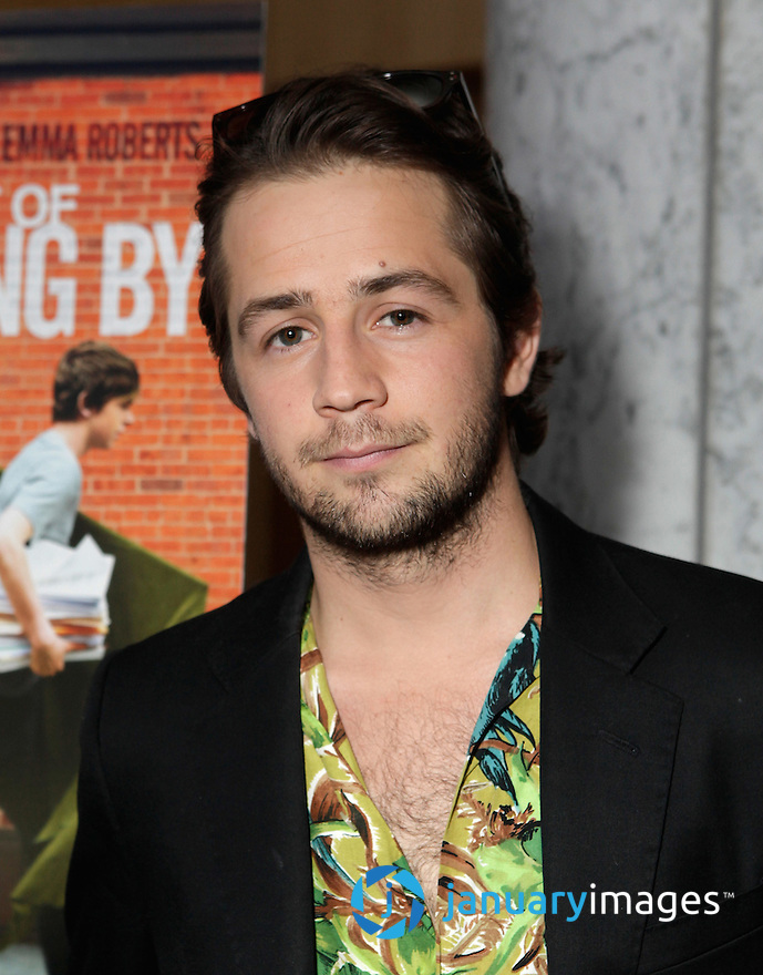 """BEVERLY HILLS, CA - JUNE 06:  Michael Angarano attends a Fox Searchlight screening Of """"The Art Of Getting By"""" at Clarity Theater on June 6, 2011 in Beverly Hills, California.  (Photo by Todd Williamson/WireImage)"""