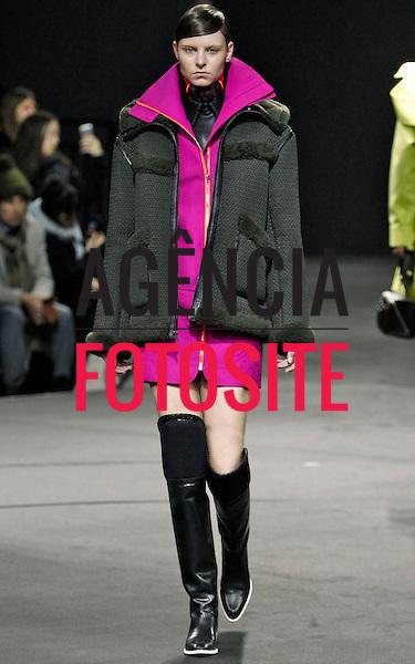 Nova Iorque, EUA – 02/2014 - Desfile de Alexander Wang durante a Semana de moda de Nova Iorque - Inverno 2014. <br /> Foto: FOTOSITE