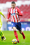 Atletico de Madrid's Lucas Hernandez during La Liga match. January 6,2018. (ALTERPHOTOS/Acero)