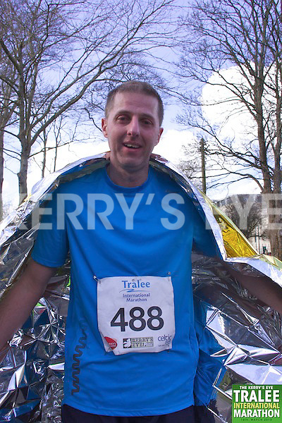 0488 Gene O'Keeffe  who took part in the Kerry's Eye, Tralee International Marathon on Saturday March 16th 2013.