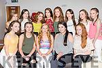 Caoimhe Carroll celebrating her 14th birthday with friends on Saturday night at La Scala's . Front l-r  Megan McKenna, Ciara McCarthy, Caoimhe Carroll, Sinead Murphy and Maeve O'Sullivan. Back l-r  Sadhbh Prendeville, Nell Nolan, Ciara O'Sullivan, Laura Foran, Sarah Horgan, Abbie Brosnan, Melanie Horan and Caitlyn Brennan