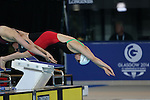 Glasgow 2014 Commonwealth Games<br /> Hannah McCarthy (Wales) Women's 100m Freestyle.<br /> 27.07.14<br /> &copy;Steve Pope-SPORTINGWALES