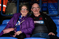 Bolton Wanderers' supporters enjoying the pre-match atmosphere<br /> <br /> Photographer Andrew Kearns/CameraSport<br /> <br /> EFL Leasing.com Trophy - Northern Section - Group F - Bolton Wanderers v Bradford City -  Tuesday 3rd September 2019 - University of Bolton Stadium - Bolton<br />  <br /> World Copyright © 2018 CameraSport. All rights reserved. 43 Linden Ave. Countesthorpe. Leicester. England. LE8 5PG - Tel: +44 (0) 116 277 4147 - admin@camerasport.com - www.camerasport.com